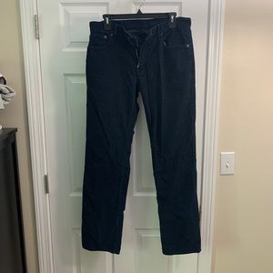 Men's Gap blue Corduroy pants size 31x32